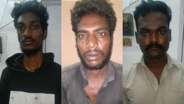 chennai Vyasarpadi Railway contractor murder case, 3 arrested by police