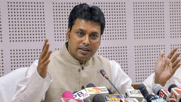 those who are opposing Hindi as the national language do not love the country: Tripura CM Biplab Kumar Deb