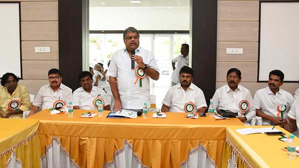 tamil manila congress president g.k.vasan rejuvenation his party cadres