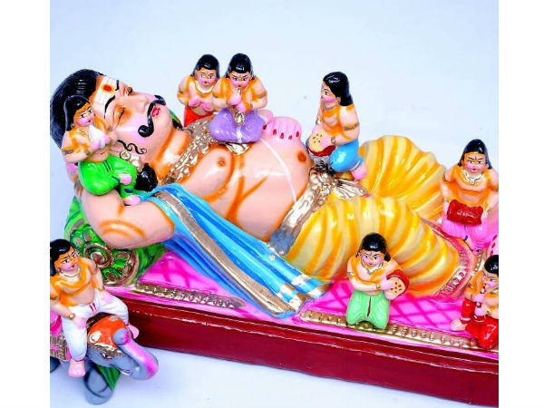 Navaratri Golu Dolls Manufacture this year made Athi varadar