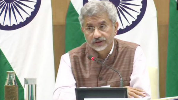 PoK part of India, will have control one day: Jaishankar