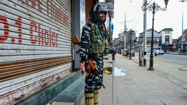 MEA said 92 per cent of Jammu and Kashmir has no restriction