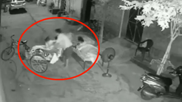 Video: A man attempts to steal a 4-year-old child while she was sleeping