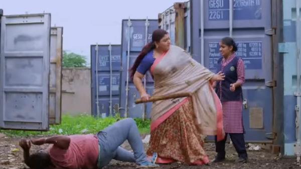Lakshmi stores serial: முதல் எபிசோடே பெரும் பிரளயம்.. கிளைமேக்ஸ் காட்சி போல இருக்குங்க!