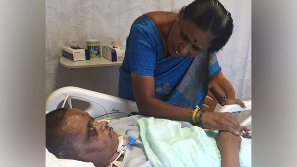 You can save Mahalakshmi who is under treatment in ICU after met with a tragic accident