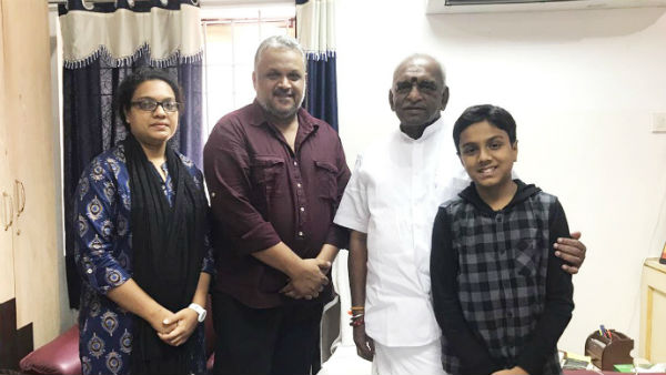 famous tamil singer late malaysia vasudevan daughter joining bjp