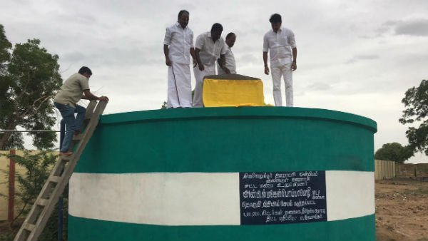 thiruverumbur dmk mla anbil mahesh sanctioned fund for water projects