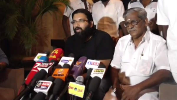 my grandfather statues worst maintenance in tamilnadu: MGR grandson ramachandran