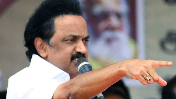 MK Stalin says that ADMK government should pressurise centre to remove Neet