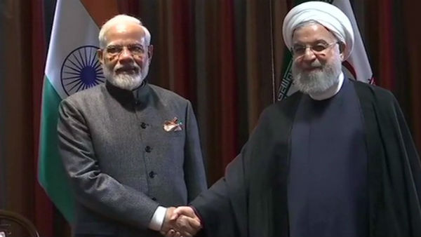 PM Modi meets Iranian President Rouhani on sidelines of UNGA