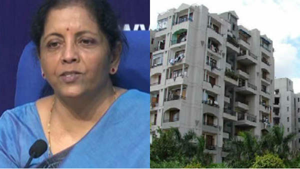 Nirmala Sitharaman announces Rs 10,000 crore special window for housing projects