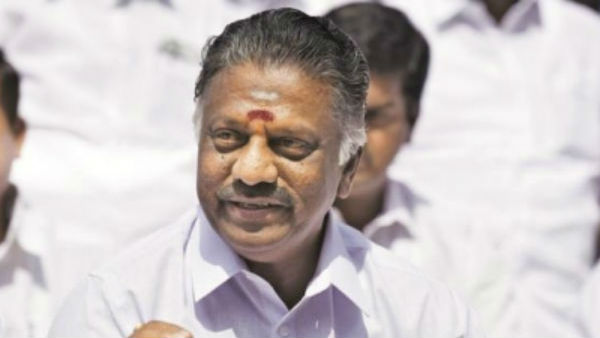 why chief minister edappadi palanisamy not give his responsibility to any other minister: o panneerselvam explain