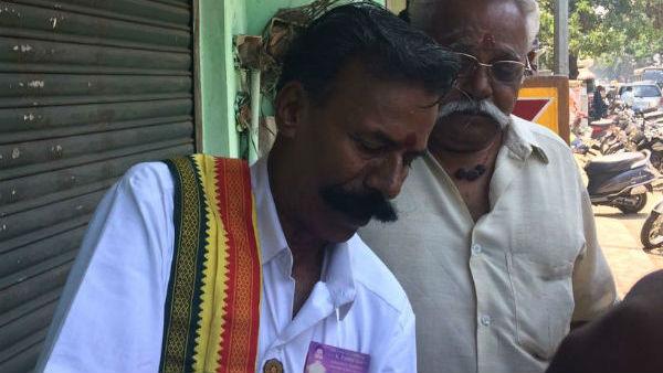 206-வது முறையாக தேர்தலில் போட்டி...! அசராத தேர்தல் மன்னன் பத்மராஜன்