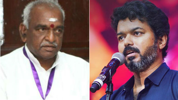 pon.radhakrishnan talk about actor vijay speech in bigil audio launch