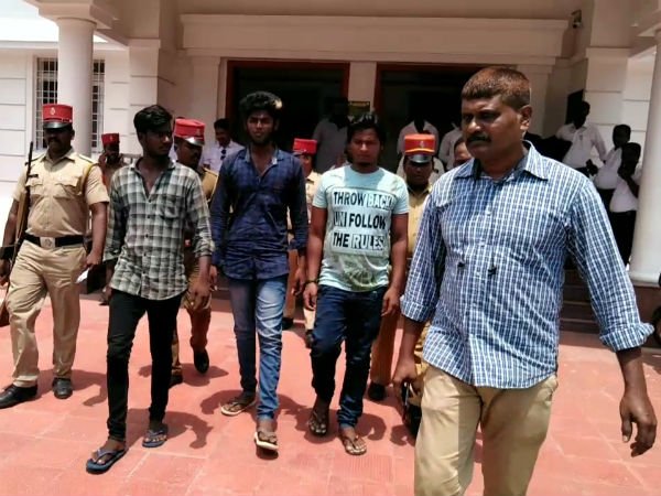 puducherry murder case 3 persons arrested by police