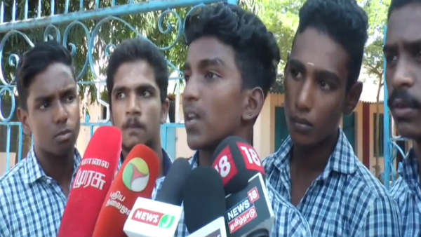 School students attacked by goondas in Nagercoil