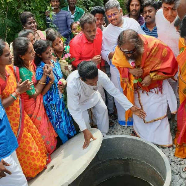 sri sri ravishnakar river rejuvenation project start