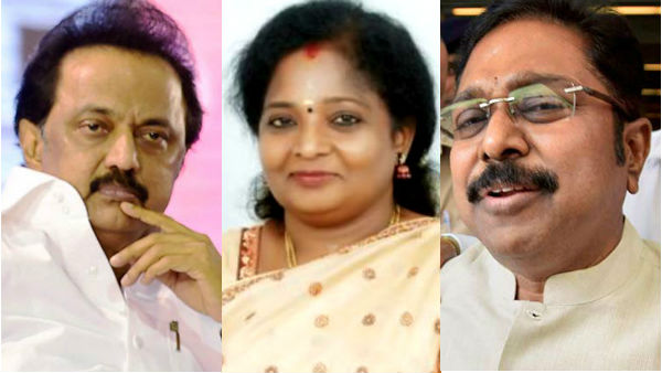 Politicians wishes Tamilisai Soundarajan who has elevated as Governor of Telangana