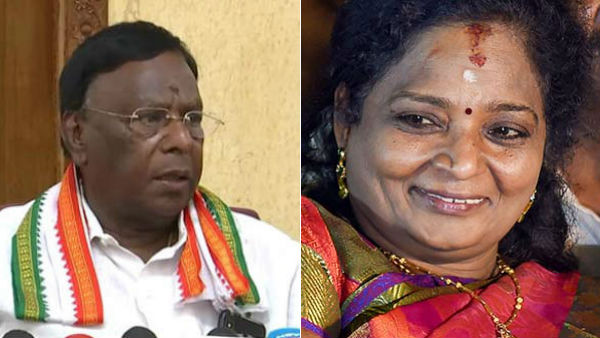 Puducherry CM opposes to Tamilisai appointed as Governor