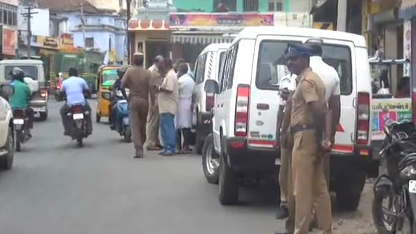 Anti Tasmac shop protest hits Nagercoil
