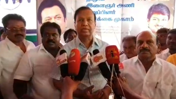 MP T.R.Baalu says that Government has to regulate banner culture in Tamilnadu