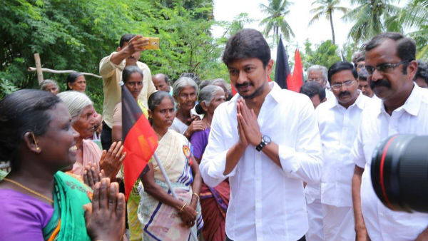 udhayanidhi stalin banned crackers in party programmes