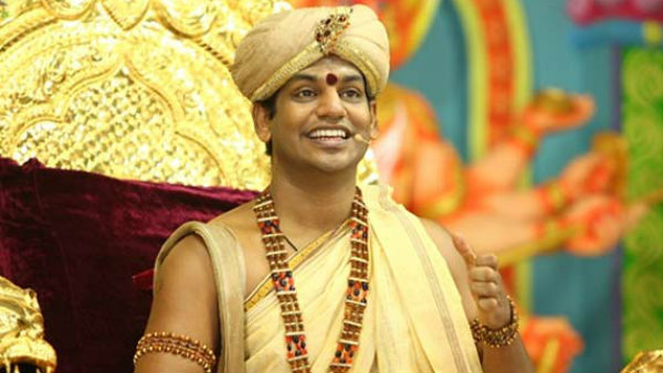 Shiva Lingam: Police complaint filed against Nithyananda
