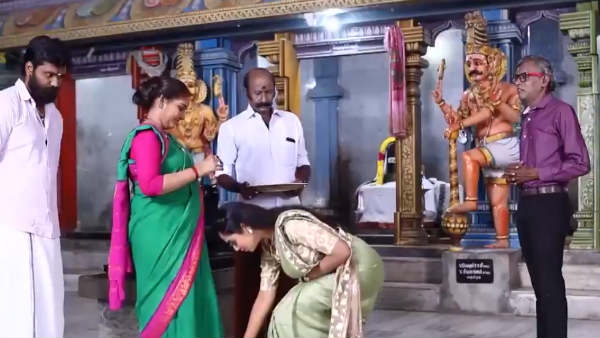 Ayudha Ezhuthu Serial: வருங்கால மாமியார்னு தெரியாம இவரும்.... மருமகள்னு தெரியாம அவரும்!