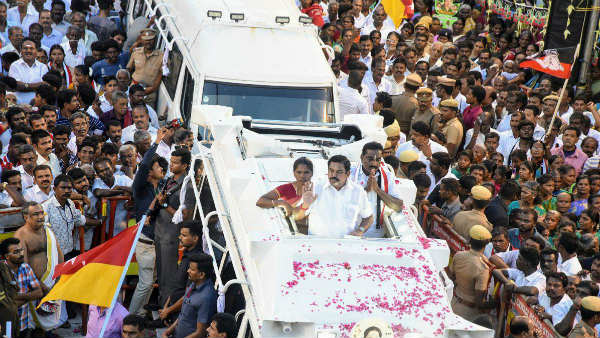 Stalin is political lier says TN CM Edappadi Palanisamy in Nanguneri by-election campaign