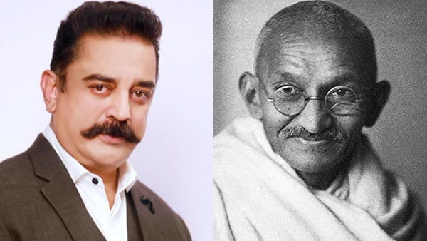 Gandhis ashes stolen and photo defaced: kamal haasan condemns