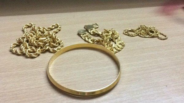 A bull ate about 40 grams of gold ornaments that belonged to a woman living in sirsa, Haryana