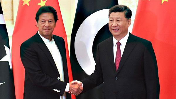 Pakisan Prime Minister Imran Khan arrives in China