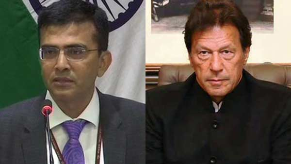 Indian Foreign Ministry slam Imran Khan over Jammu Kashmir issue