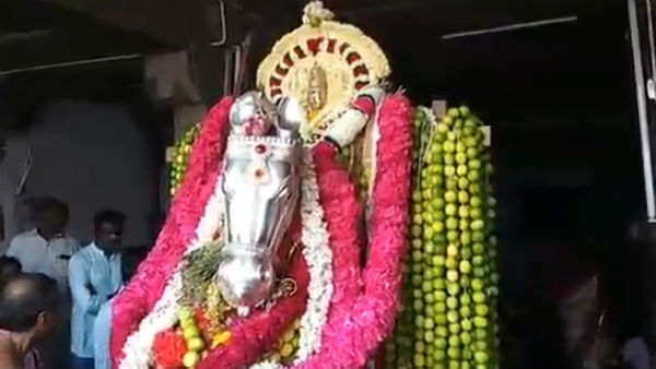 pari vettai held in kanyakumari temple