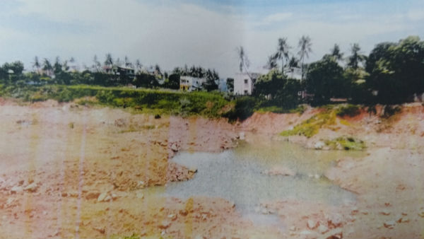 hc issues notice to collector on lake encroachment