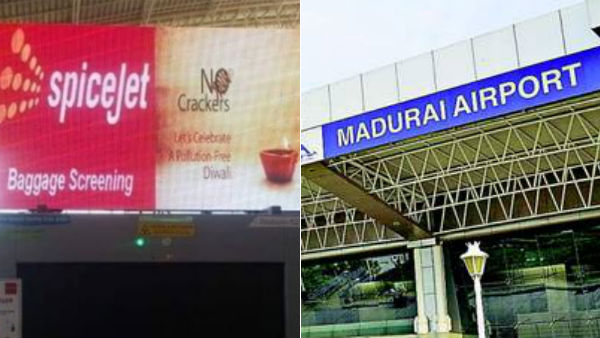 spice jet flight issue in madurai airport