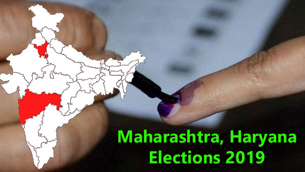 Maharashtra, Haryana election polling 2019 Live Updates: BJP vs Congress fights for 2 states
