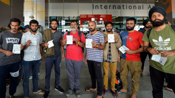 311 Indians deported by Mexico arrived in Delhi