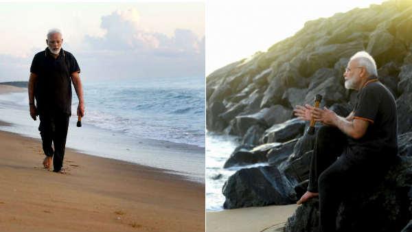 கடல்.. இது என்னுடைய ஆத்ம உலகம்.. மாமல்லபுரம் குறித்து கவிதை எழுதிய பிரதமர் மோடி.. உருக்கம்!