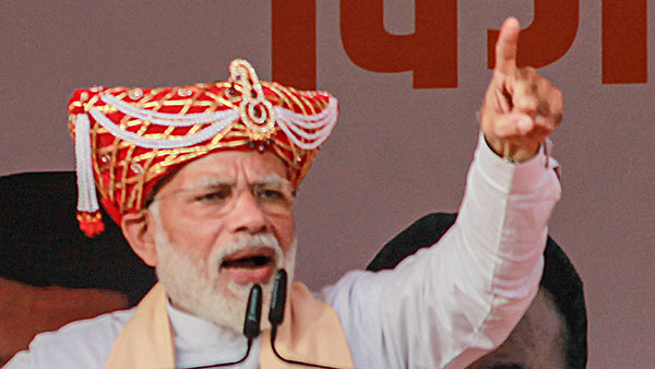 if looted people money, gets jail sentence: pm modi warns