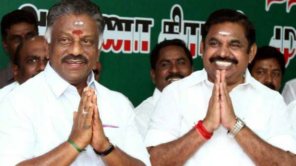 Ops, eps, give Key points to admk candidate agents note during on ballot count centres