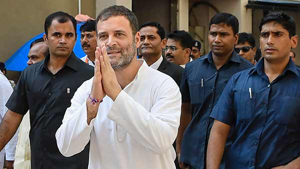Cong. Former President Rahul Gandhi leaves for abroad