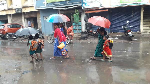 ஜில் ஜில் மழையால்.. குளு குளுவென மாறிய சென்னை.. இன்னும் இருக்கு என்ஜாய் பண்ணுங்க