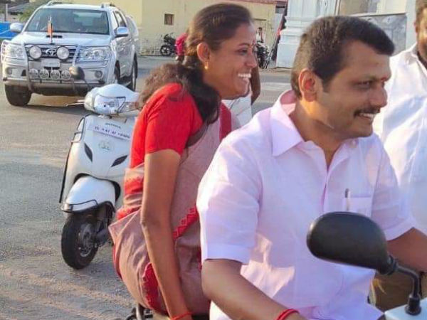 senthilbalaji mla and jothimani mp are thickest friends in karur district politics