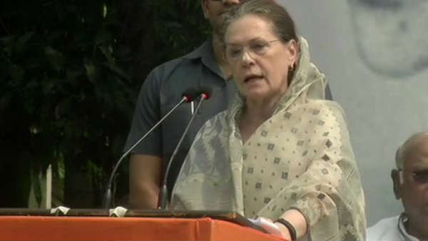 Mahatma Gandhi's soul would be pained: Sonia Gandhi