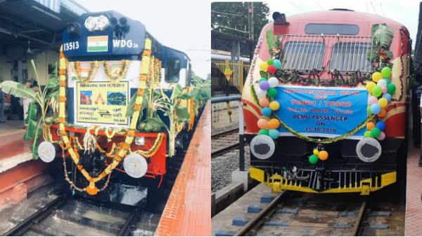 Three new train services to begin today in tamil nadu