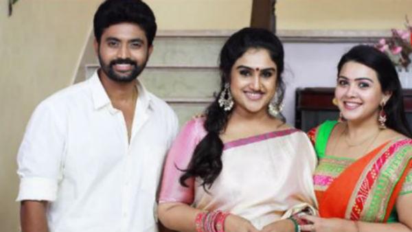 Chandralekha Serial: பிக் பாஸ் வனிதா விஜயகுமார் சந்திரா வீட்டுக்கு போறாங்களாம்!