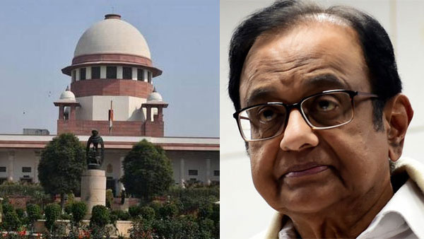INX Media Case: SC Adjourns Chidambarams Bail Plea hearing for Friday