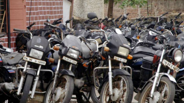 104 confiscated vehicles in Trichy Auction on december 6th