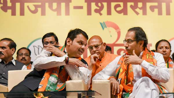 BJP-Sena fight may lead way for President rule in Maharashtra